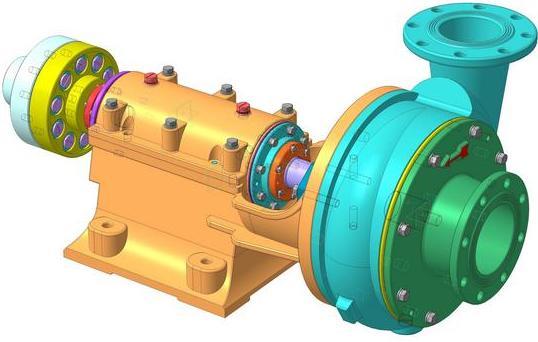 Шламовый насос ШН 250-34 (ШН