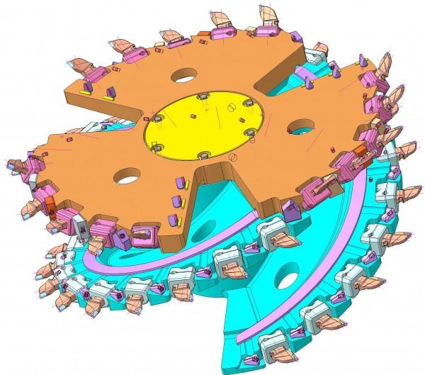 Шнековый исполнительный орган ШР14-63 для ПУ13-ПУ25